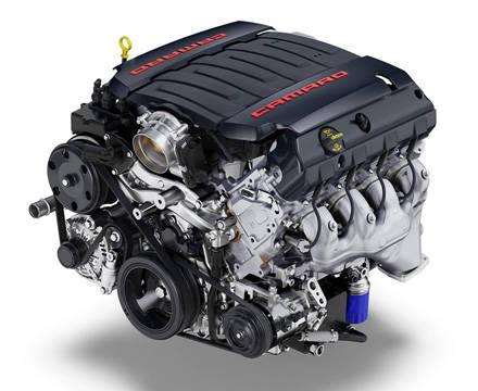 6代目 カマロの V8エンジン