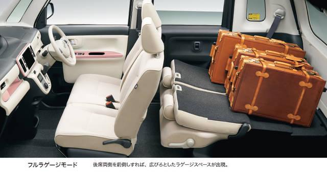 【公式】ムーヴ キャンバスの車内空間と荷室|ダイハツ (44582)