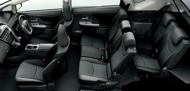 トヨタ プリウスα | 室内・インテリア | インテリア・シート表皮 | トヨタ自動車WEBサイト (44623)