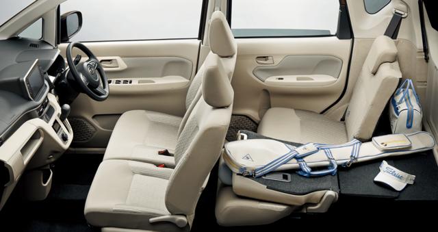 【公式】ムーヴの車内空間と荷室|ダイハツ (44857)