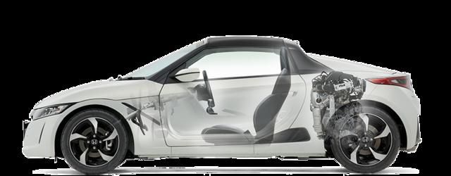走行性能|安全・性能|S660|Honda (45056)