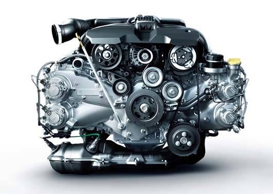 水平対向エンジン