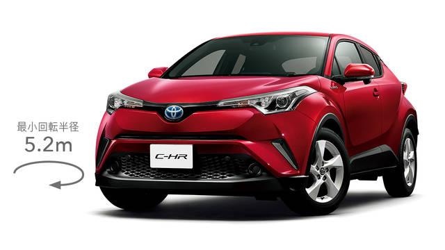 トヨタ C-HR | 走行性能 | 走行性能 | トヨタ自動車WEBサイト (46095)