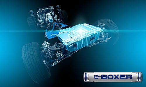 新型XVに搭載されるe-BOXER