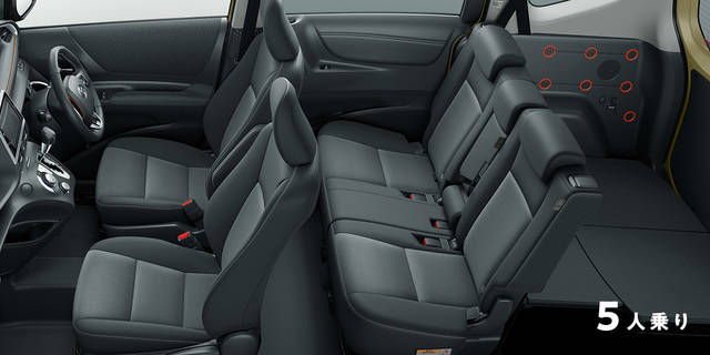 トヨタ シエンタ | デザイン・スタイル | トヨタ自動車WEBサイト (47073)