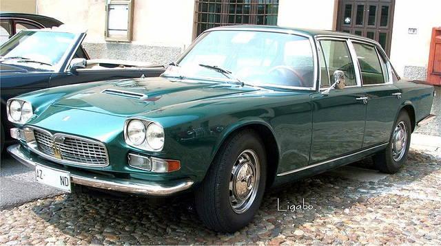 クアトロポルテ  初代モデル(1963年〜1969年)