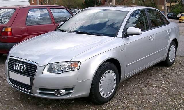 アウディ「A4」3代目モデル(2005年〜2008年)