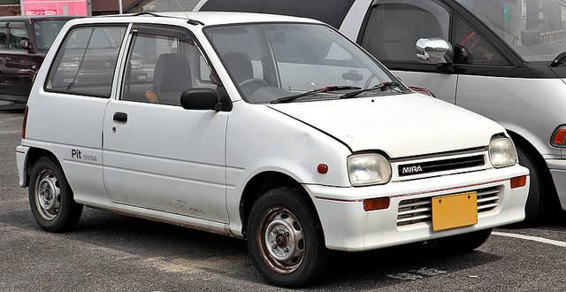 「ミラ」3代目モデル(1990年〜1994年)