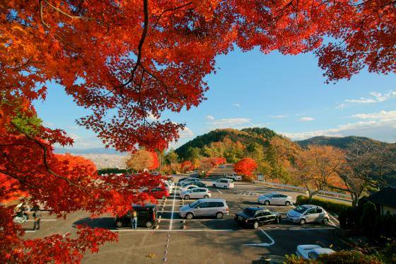 小倉山展望台 |嵐山-高雄パークウエイ|京都の美しい景色が一望できるドライブウエイ (50112)