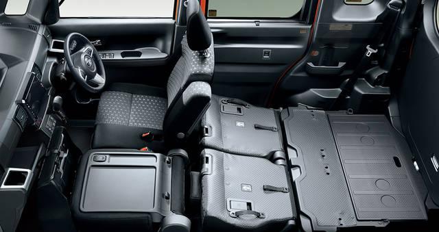 【公式】ウェイクの車内空間と荷室|ダイハツ (50856)