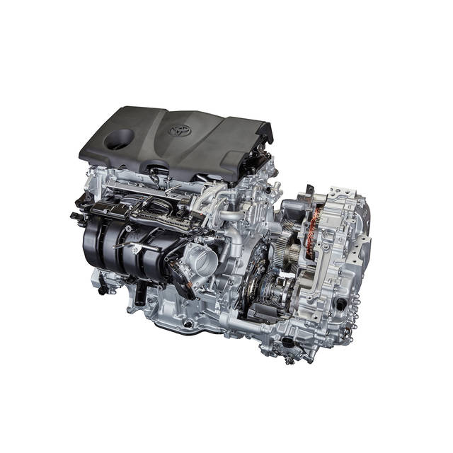 直列4気筒2.5L直噴ガソリンエンジン・トランスアクスル | トヨタグローバルニュースルーム (51004)