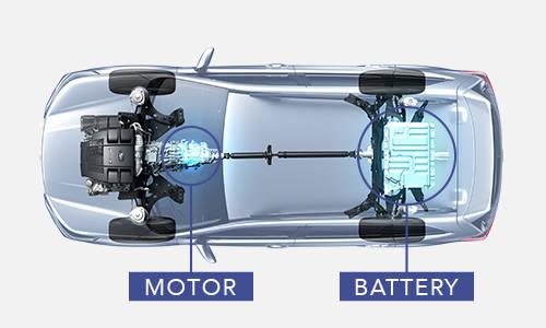 ドライビング:シンメトリカルAWD | ドライビング | テクノロジー | SUBARUのクルマづくり | SUBARU (51108)