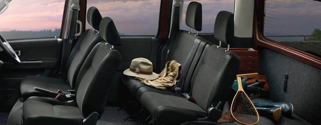 【公式】アトレーワゴンの車内空間と荷室|ダイハツ (51375)