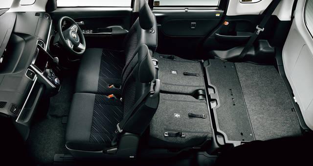 【公式】タント カスタムの車内空間と荷室|ダイハツ (51473)