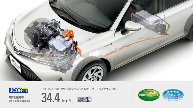 トヨタ カローラ アクシオ | 走行性能 | トヨタ自動車WEBサイト (51496)