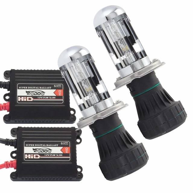 Amazon.co.jp: 薄HIDキット フィリップス 35W H4兼用型 6000K 極輝型バルブ 極薄安定型 快速点灯 ヘッドライト/フォグランプ対応 1年保証 2個セット 35W-H4-6K: 車&バイク (51617)