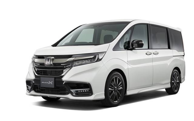 Honda | 「STEP WGN Modulo X」をマイナーモデルチェンジして発売 (52865)