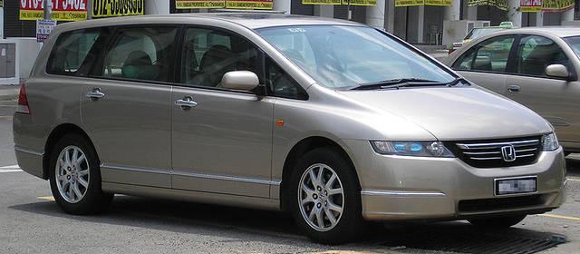 オデッセイ 3代目モデル(2003年〜2008年)