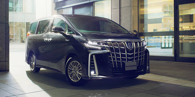 トヨタ アルファード | 外観 | トヨタ自動車WEBサイト (53464)