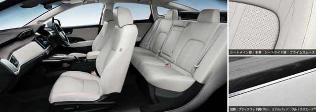 デザイン・カラー|インテリア|クラリティ FUEL CELL|Honda (54046)