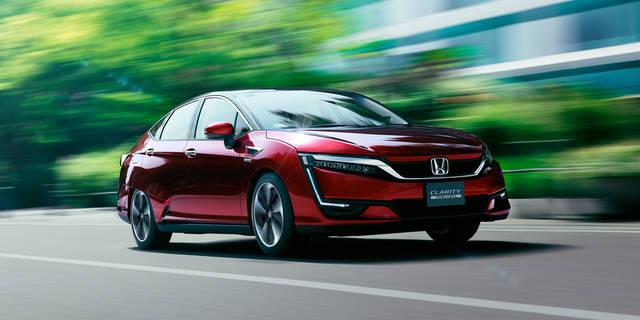 走行性能|性能・安全|クラリティ FUEL CELL|Honda (54052)