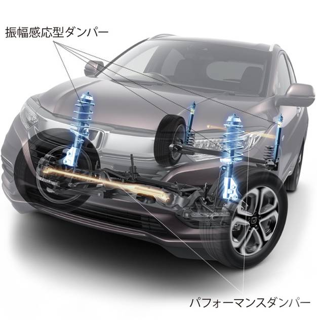Honda | 1.5L VTEC TURBOエンジン搭載の「VEZEL TOURING・Honda SENSING」を発売 (55117)