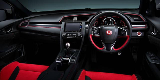 デザイン・カラー|インテリア|シビック TYPE R|Honda (57551)