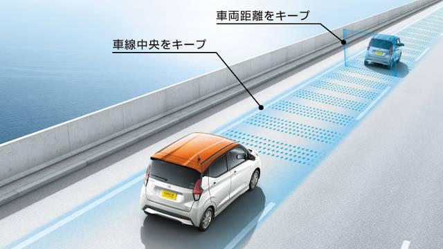 日産:デイズ [ DAYZ ] 軽自動車 | 走行・安全 | 先進技術 (58113)
