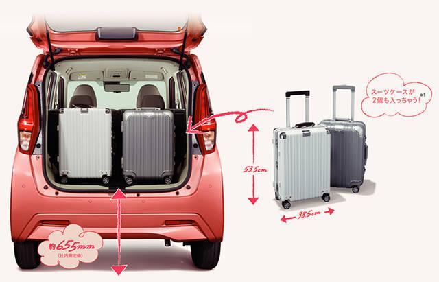 収納スペース・その他装備 | 装備・メーカーオプション | eKワゴン | 軽自動車 | カーラインアップ | MITSUBISHI MOTORS JAPAN (58227)