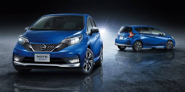 日産:ノート [ NOTE ] 電気自動車 (e-POWER) | AUTECH (58441)