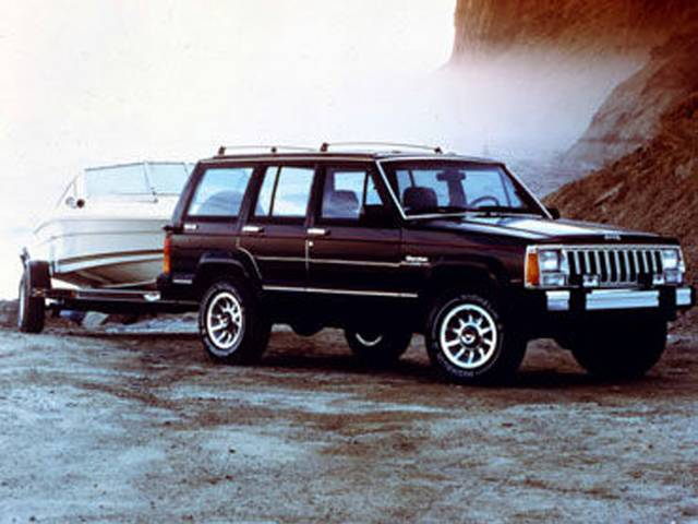 Jeep History in the 1980s (58685)