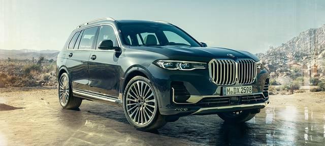 BMW X7:ラグジュアリー・クラスのSAV (58757)