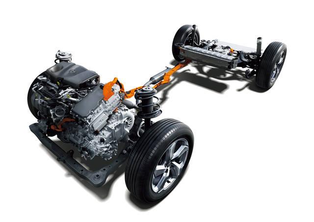 2.5Lの直列4気筒ダイナミックフォースエンジン+新型...