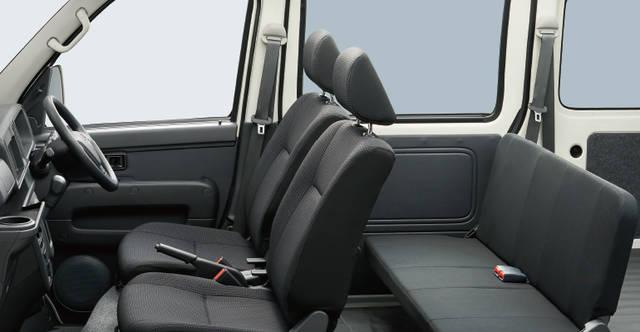 【公式】ハイゼット カーゴの車内空間と荷室|ダイハツ (59843)