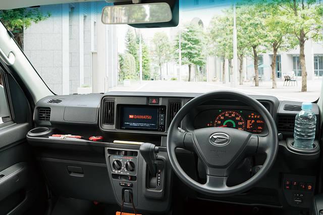 【公式】ハイゼット カーゴの車内空間と荷室|ダイハツ (59844)