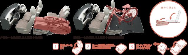 収納スペース・その他装備 | 装備・メーカーオプション | eKスペース | 軽自動車 | カーラインアップ | MITSUBISHI MOTORS JAPAN (59908)