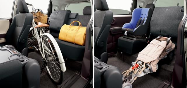 トヨタ ポルテ | 室内・インテリア | 室内空間 | トヨタ自動車WEBサイト (60299)