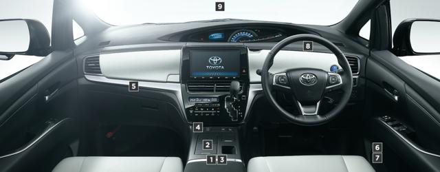 トヨタ エスティマ | 室内・インテリア | 室内装備 | トヨタ自動車WEBサイト (60408)