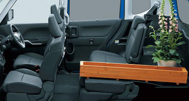 収納スペース・その他装備 | 装備・メーカーオプション | デリカD:2 | コンパクトカー | カーラインアップ | MITSUBISHI MOTORS JAPAN (60898)