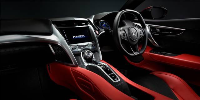 デザイン・カラー|インテリア|NSX|Honda (61322)