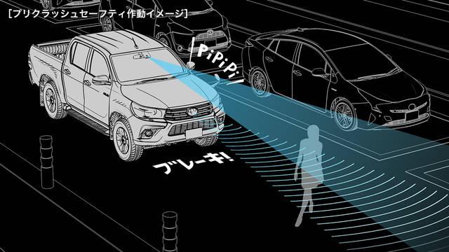 トヨタ ハイラックス | 安全性能 | 予防安全 | トヨタ自動車WEBサイト (61853)