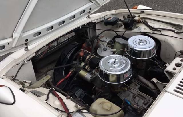 800ccのエンジン
