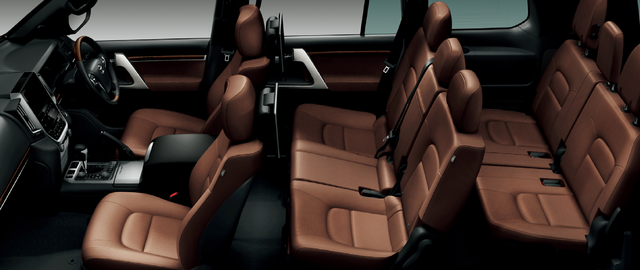 トヨタ ランドクルーザー | 室内・インテリア | インテリア・シート表皮 | トヨタ自動車WEBサイト (61921)