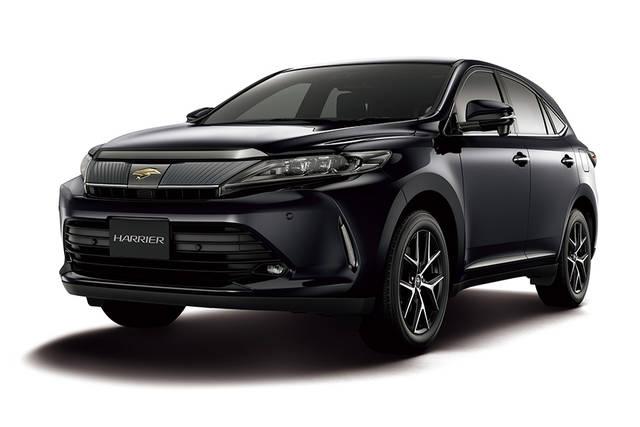 TOYOTA、ハリアーにブラック基調の特別仕様車を設定 | トヨタ | グローバルニュースルーム | トヨタ自動車株式会社 公式企業サイト (63348)