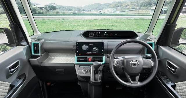 【公式】タントの車内空間と荷室 ダイハツ (63515)