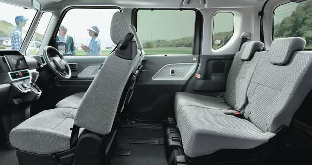 【公式】タントの車内空間と荷室|ダイハツ (63518)