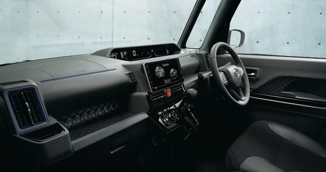 【公式】タントの車内空間と荷室 ダイハツ (63522)
