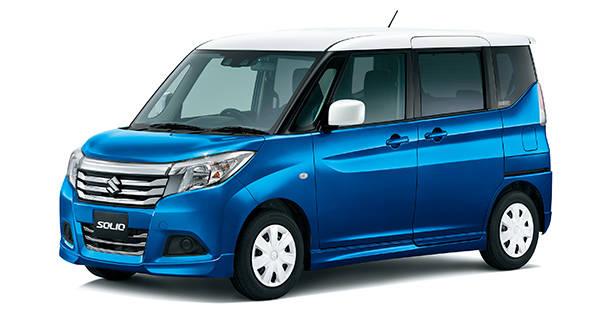 スズキ、小型乗用車「ソリオ」に特別仕様車 「GX2」、「GX4」を設定して発売|スズキ (63552)
