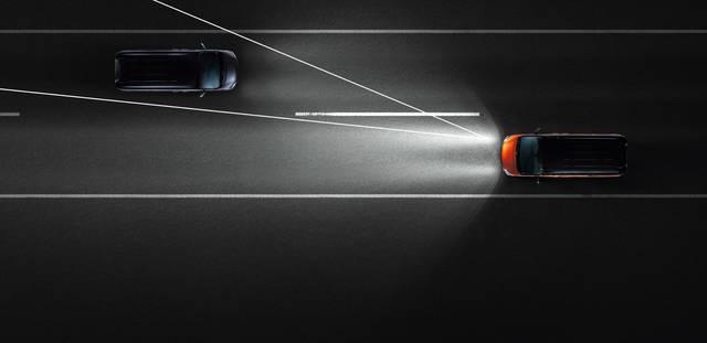 アダプティブLEDヘッドライトシステム
