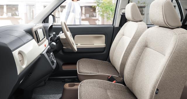 【公式】ミラ トコットの車内空間と荷室|ダイハツ (64964)
